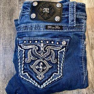 Miss me blue skinny jeans
